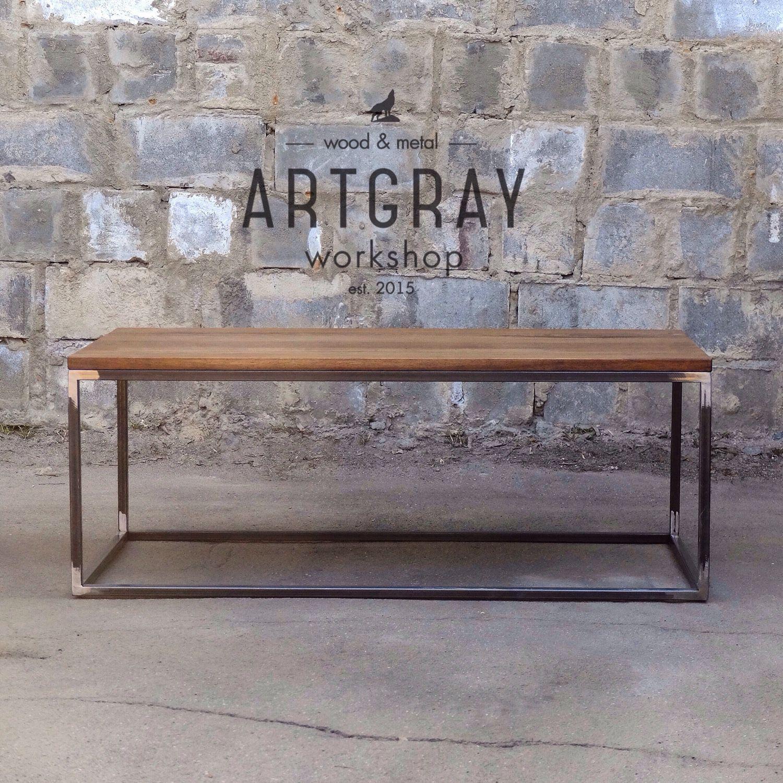 купить журнальный стол в стиле лофт лофт мебель индустриальный
