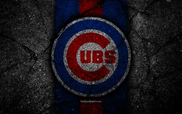 Download Wallpapers 4k Chicago Cubs Logo Mlb Baseball Usa Black Stone Major League Baseball Asphalt Texture Art Baseball Club Chicago Cubs Logo Besth Chicago Cubs Chicago Cubs Logo Chicago Cubs Wallpaper