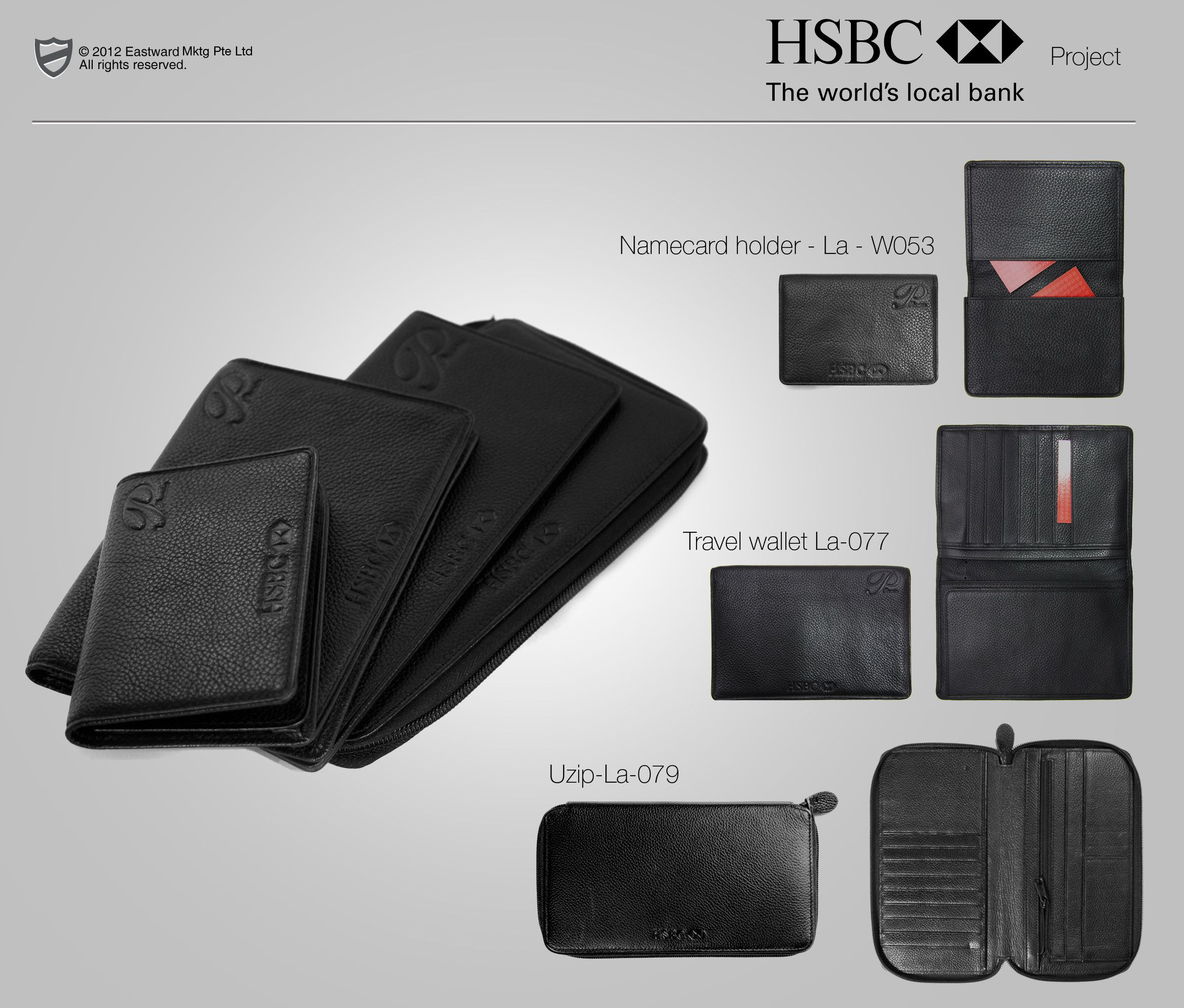 HSBC premier banking leather gifts | Past Projects Reference