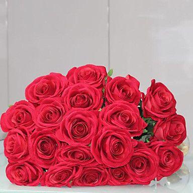 High-Grade+Love`r+Roses+Simulation+Flower+Artificial+Flower+Home+Decoration+–+USD+$+4.99