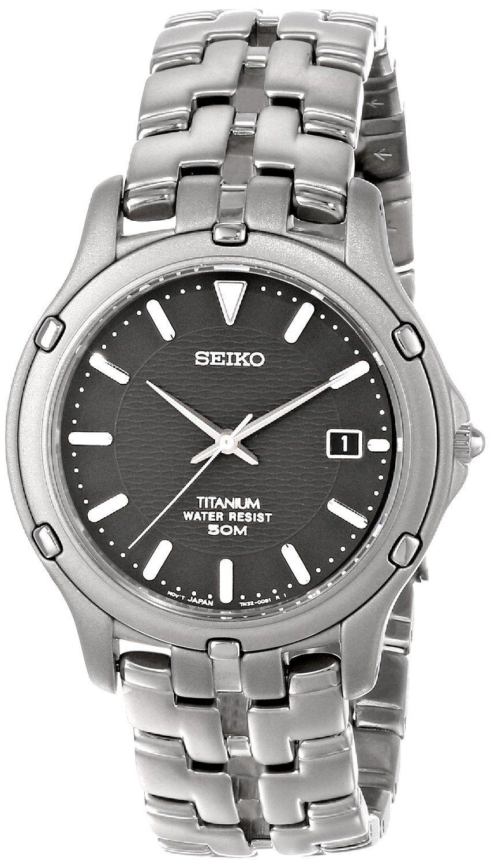 AmazonSmile  Seiko Men s SLC033 Le Grand Sport Titanium Watch  Seiko   Watches 8066b68632