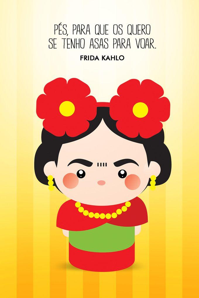 Toysquotes O Homem Por Trás Da Fofura Frases Frida Frida Kahlo