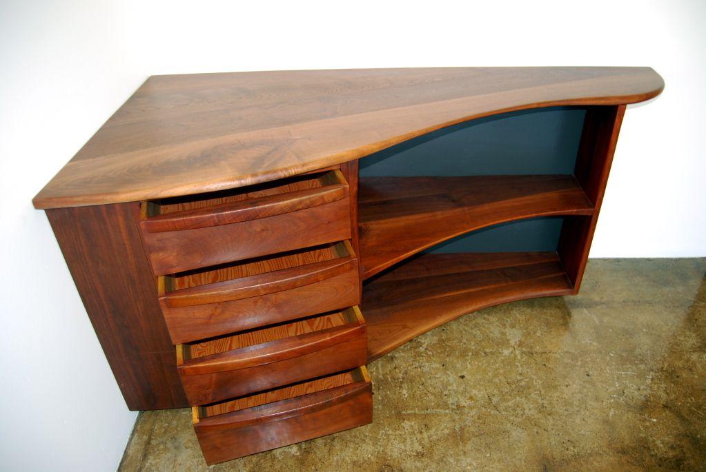 style vintage corner desk computer antique secretary cottage