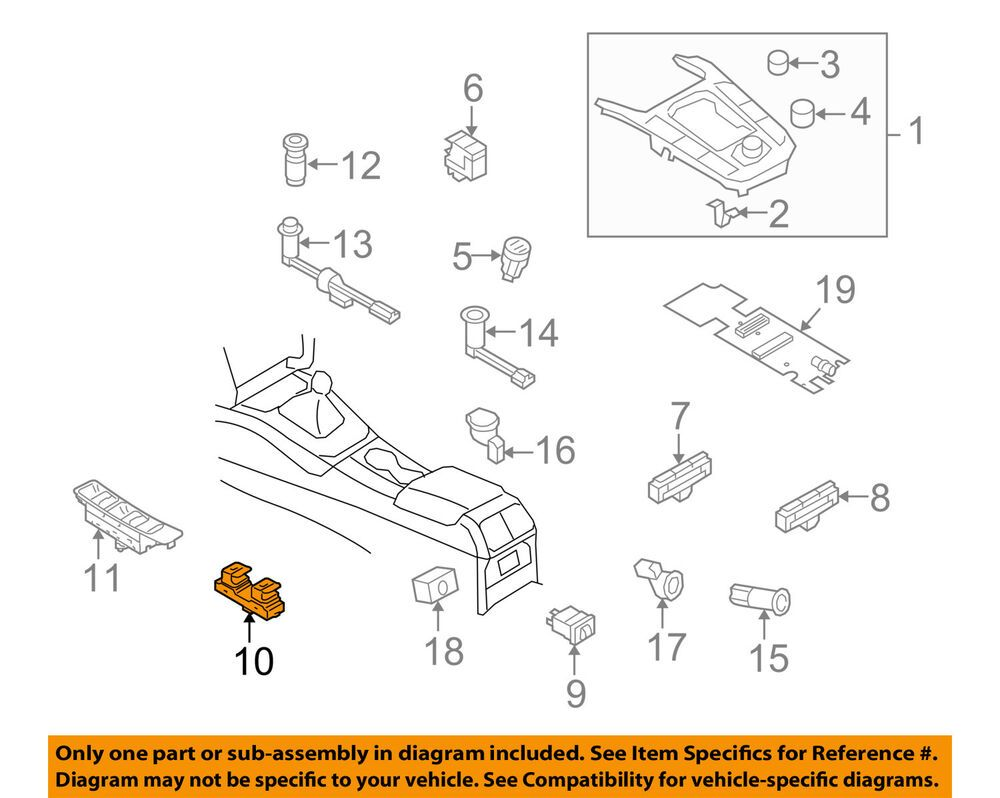 Details About Audi Oem 10 17 A5 Quattro Convertible Top Switch