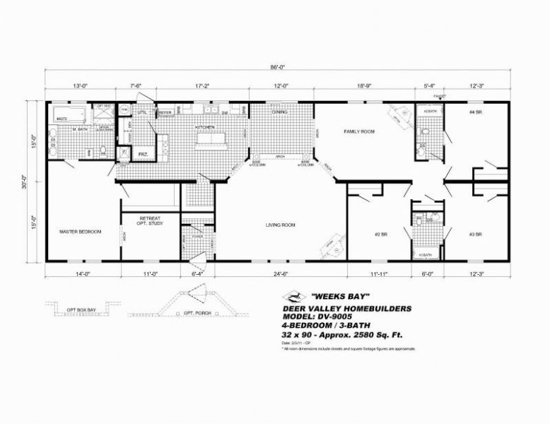 Modular Homes Floor Plans And Prices Nebraska 14x52 Mobile Homes Floor Plans Mobile Home Floor Plans Floor Plans House Floor Plans