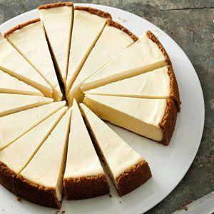 Clássico estilo de Nova York Cheesecake
