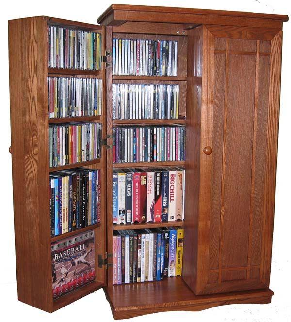 Cd Storage Cabinet Wood