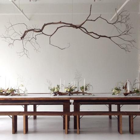 25 amazing diy branches chandeliers - Natrliche Hickory Holzbden