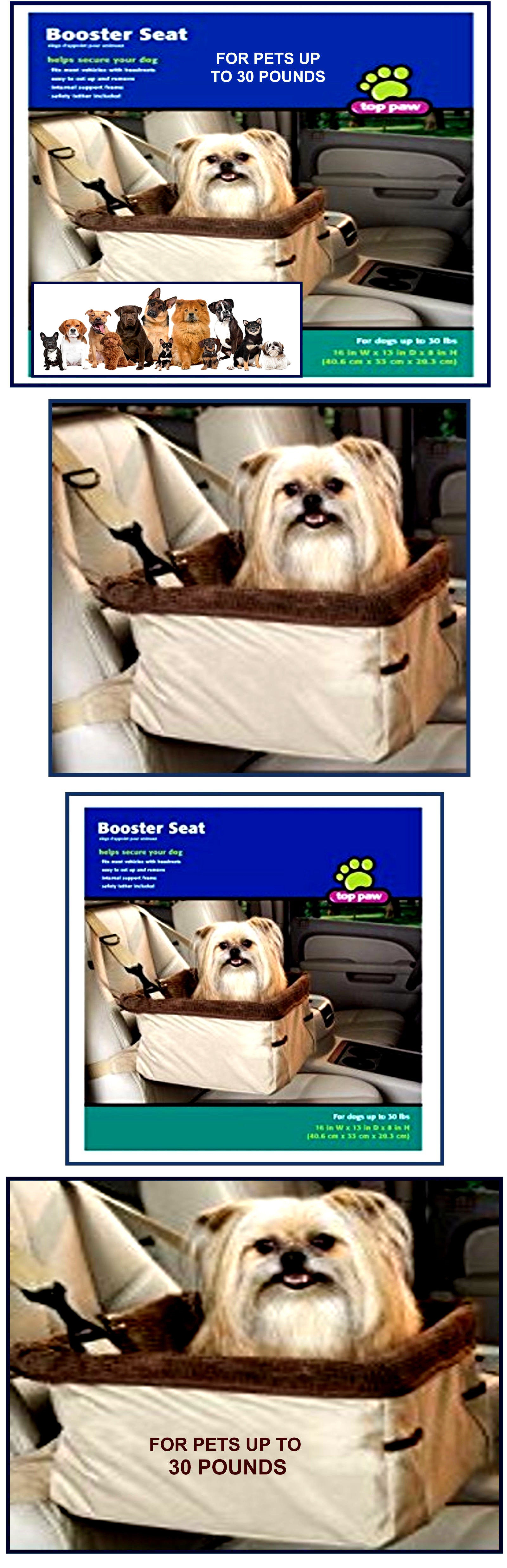 Car seats and barriers deluxe dog cat pet elevated lookout
