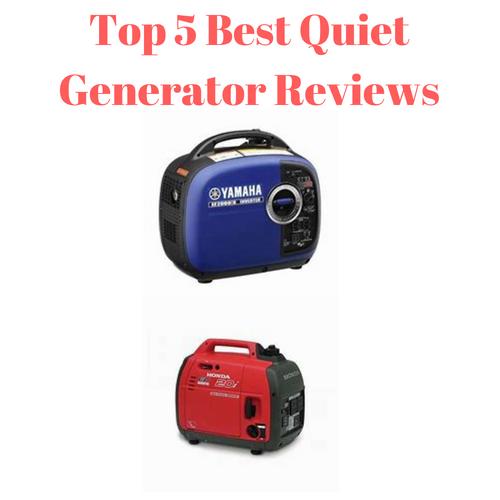 Top 5 Best Quiet Generator Reviews Power generator