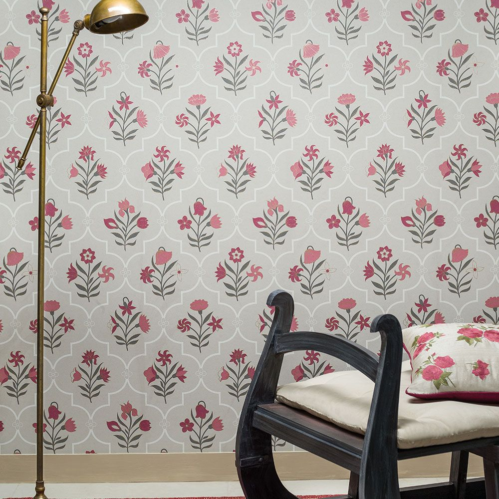 Bagh e Fiza Designer Wallpaper from Nilaya by Asian Paints ...
