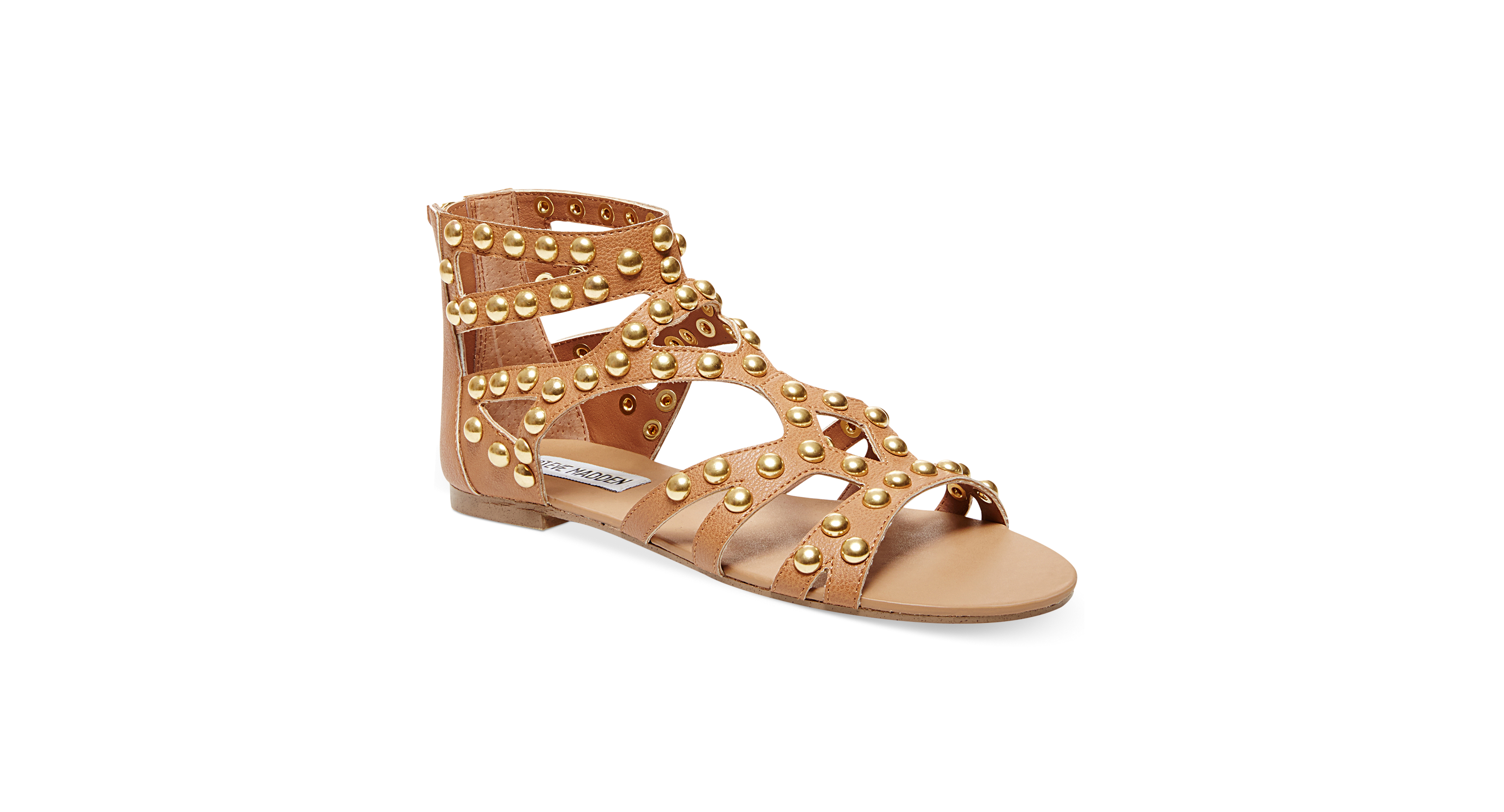 Steve Madden Women's Culver-s Embellished Gladiator Flat Sandals (Only at Macy's)