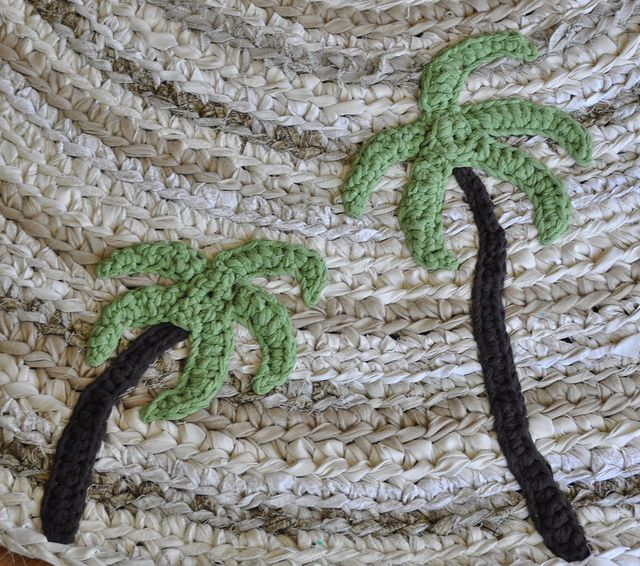 Crochet Beach, Shells, Fish
