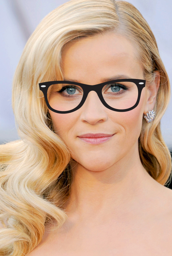 latest trend in eyeglasses  geek reese witherspoon beauty oscar zoom resized 600