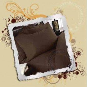 """22"""" Inches Super Deep Pocket  Chocolate Fitted Sheets 1000TC - All Sizes"""