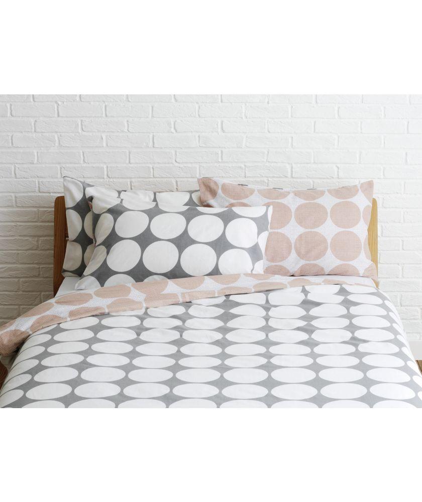 Buy Habitat Spot Bedding Set - Kingsize at Argos.co.uk - Your Online Shop for Duvet cover sets.