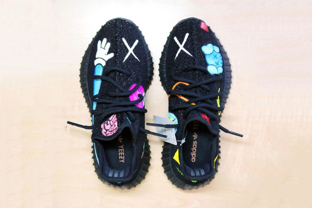 11faa153d675 Here s What a KAWS x YEEZY BOOST 350 V2 Collaboration Might Look Like