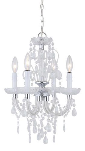 Patriot LightingR Marlene Chrome Chandelier At MenardsR Lightingreg With Crystal Glass Accents