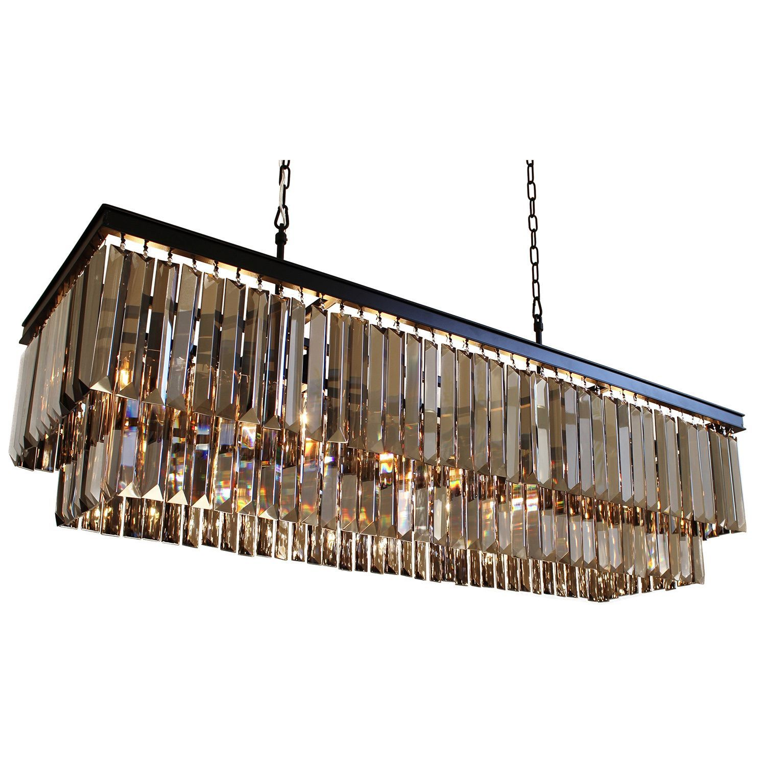 Overstock Com Online Shopping Bedding Furniture Electronics Jewelry Clothing More Rectangular Chandelier Chandelier Ceiling Lights Glass Light Fixture