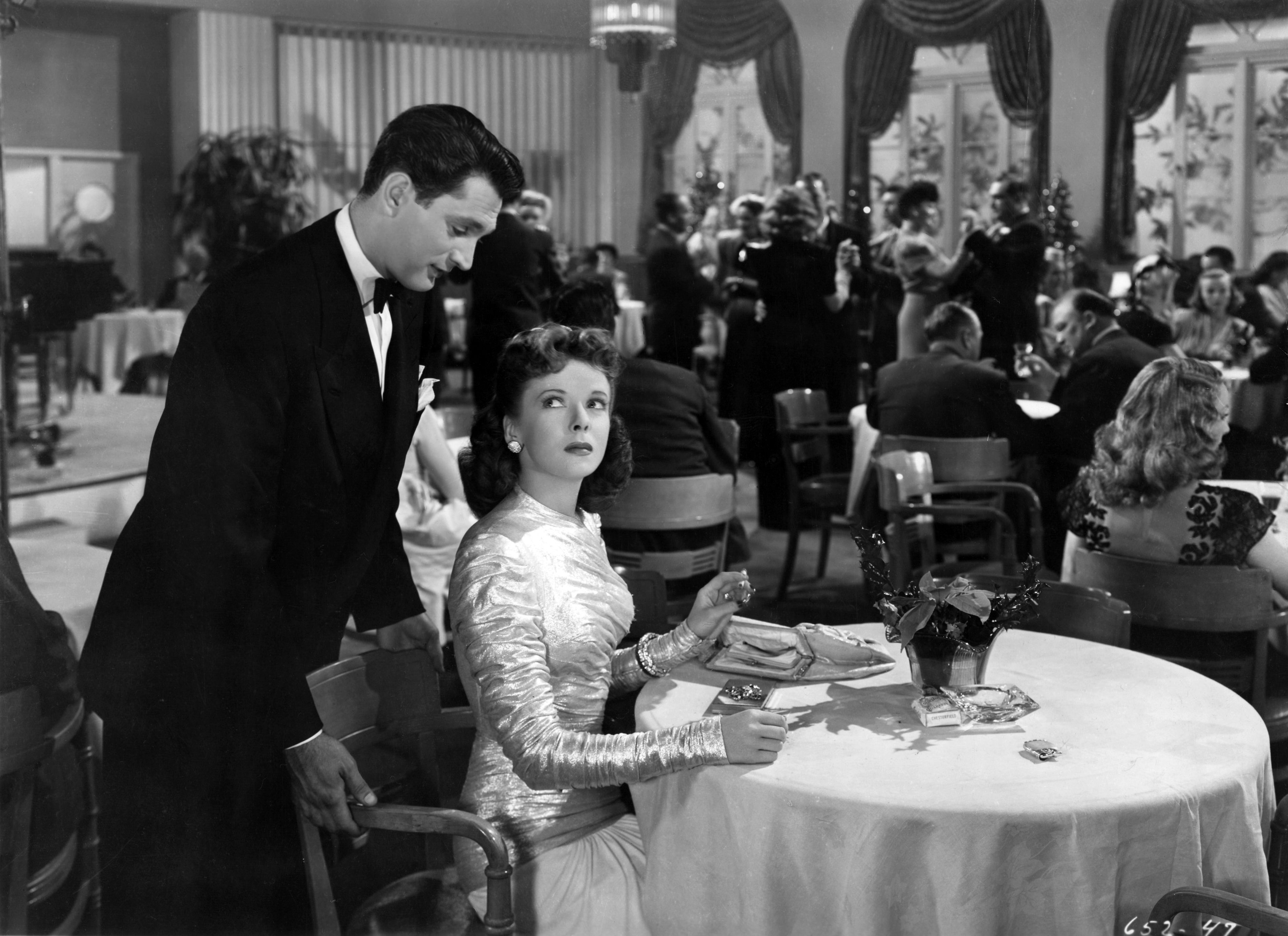 Image result for ida lupino and robert alda the man i love the dress she had to be cut out from