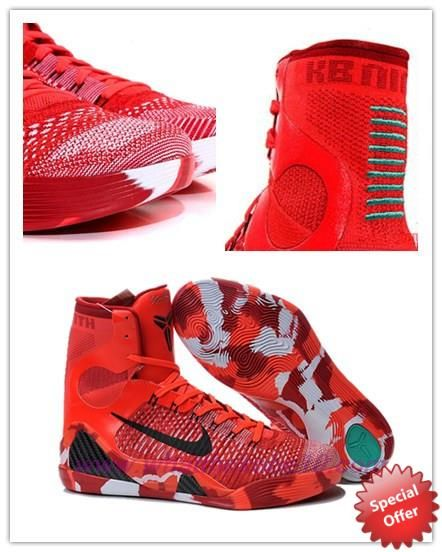 704304 011 christmas nike kobe 9 elite red