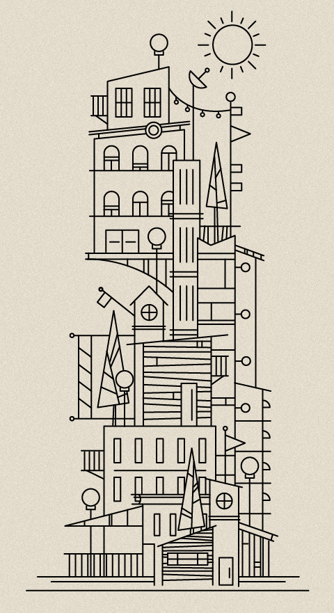 Illustrator: Scott Hill - http://www.foundrycollective.com    awesome!