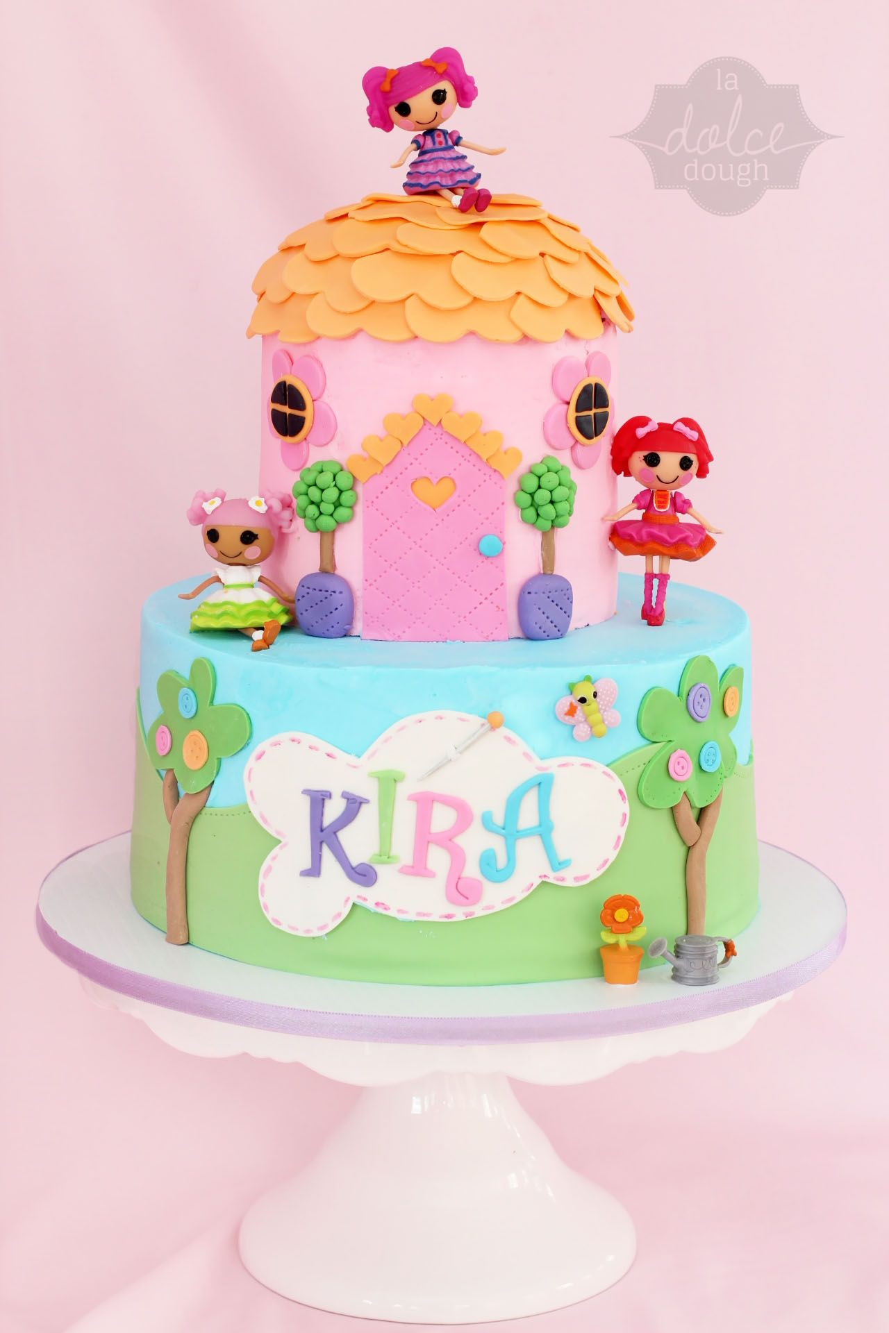 Awe Inspiring Lalaloopsy Girls Birthday Cake With Images Birthday Cake Girls Personalised Birthday Cards Rectzonderlifede
