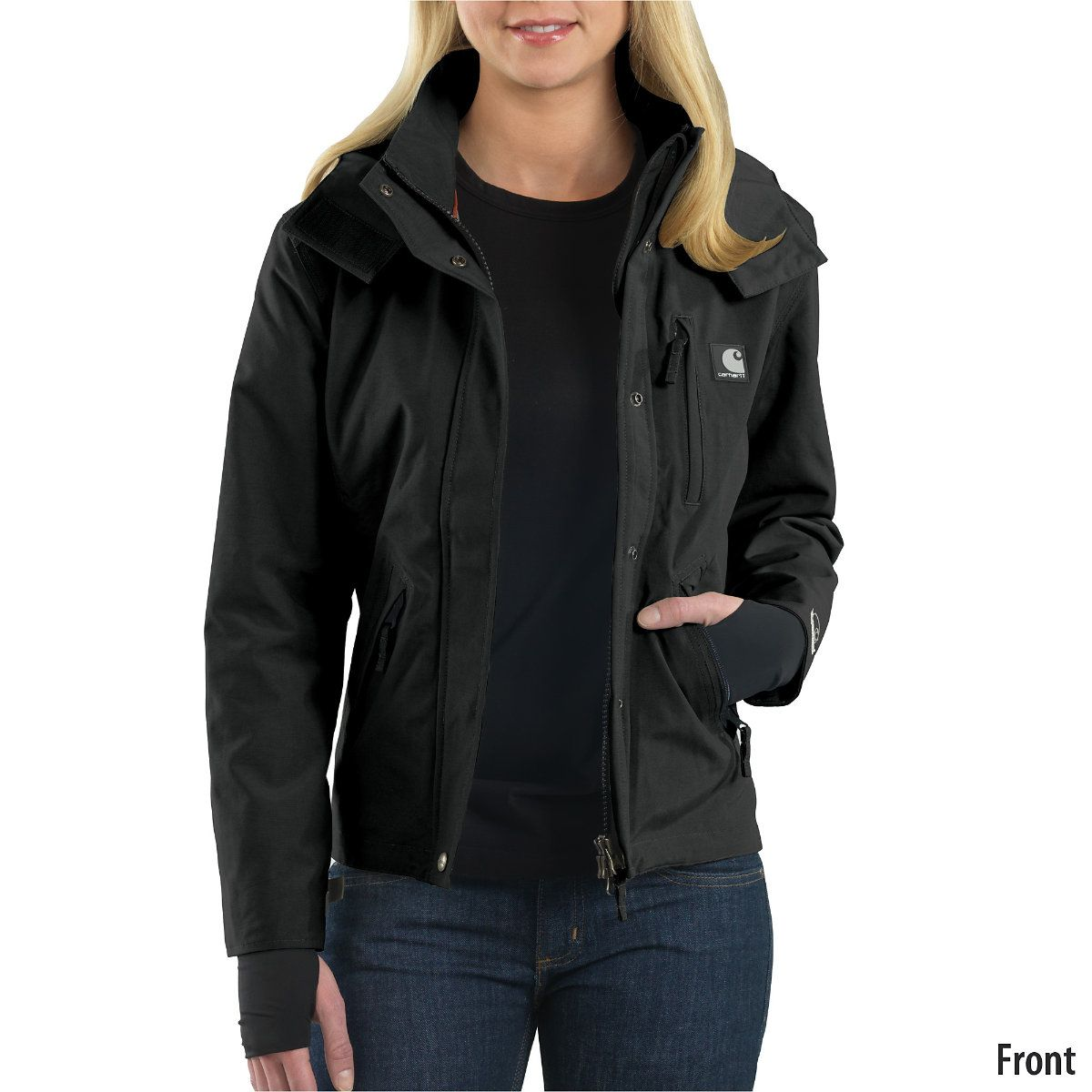Carhartt Womens Waterproof Breathable Jacket | Clothing & Shoes ...