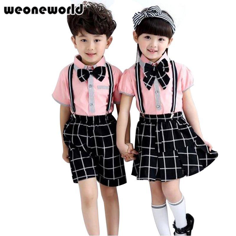 485b37ff100f8 WEONEWORLD 2016 Summer Korean Fashion Children's Sets Baby Boys And ...