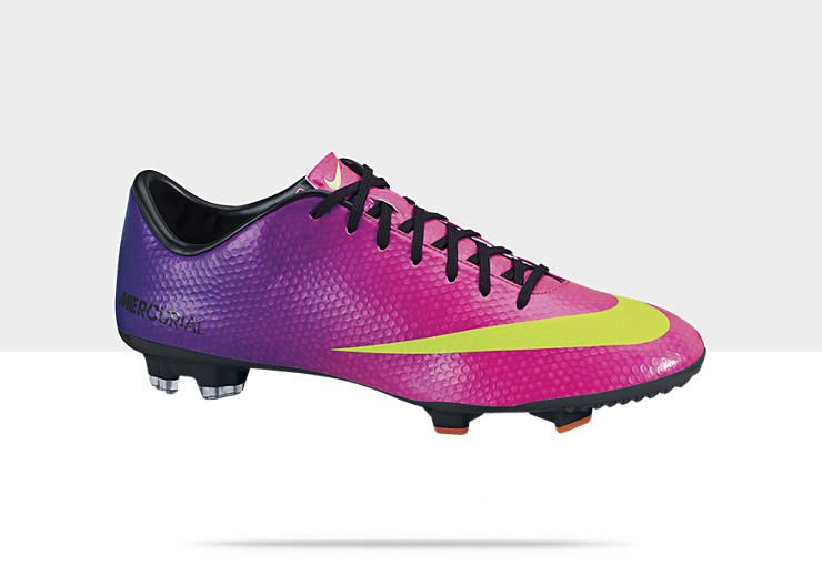 cd448682374f Discount NIKE MERCURIAL VICTORY IV FG Men s Firm-Ground Soccer Cleat  Fireberry Electric Green-Red Plum-Black