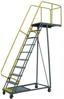 Cantilever Rolling Ladder Rolling Ladder Platform Ladder Ladder