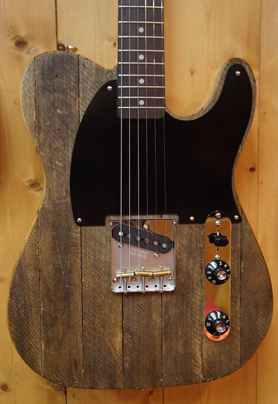 Single pickup sweetness! Hand-routed pine Telecaster body with ...