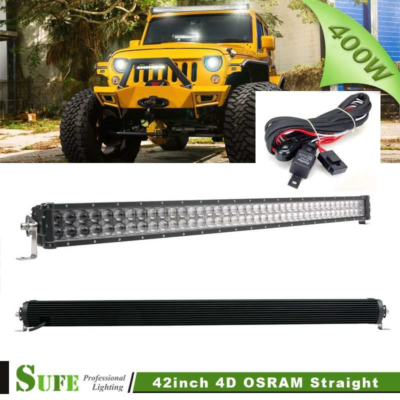 Sufe 42 inch 400w 5d led light bar for truck offroad utv suv 4x4 sufe 42 inch 400w 5d led light bar for truck offroad utv suv 4x4 boat ece aloadofball Image collections