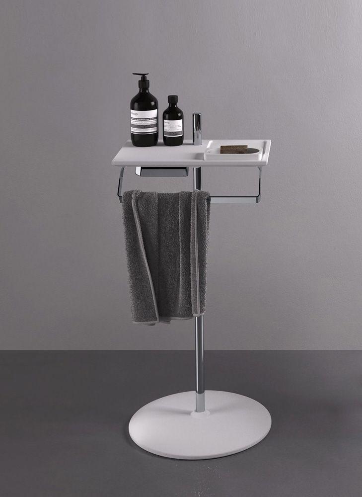 Accessori Per Bagno Piantane.Accessori Bagno Piantana Ted Da Agape Design Minimal