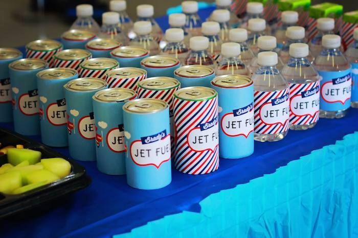 Airline Airplane Themed Birthday Party Themed birthday parties