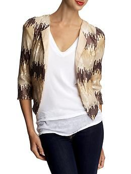 Sequin jacket by Ark & Co. $69.99
