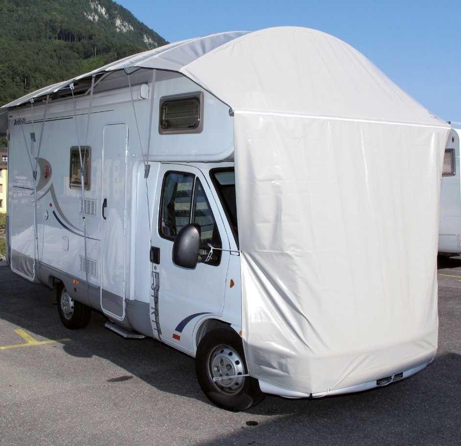 Schutzdach VANprotect für Wohnmobil, Wohnwagen  8