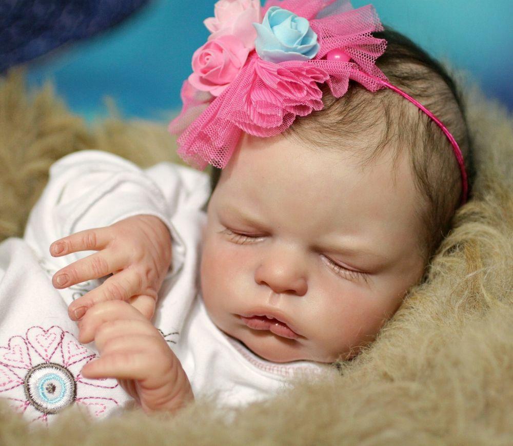 Sweet Angel Anastasia Culptor Olga Auer Reborn Doll Hyper Realistic Baby Doll Realistic Baby