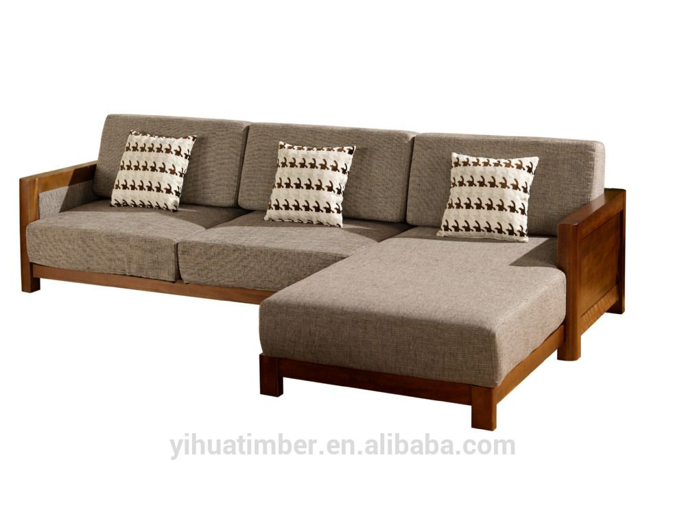Cheap Sectional Sofas Chinese style solid wood sofa design modern wood sofa