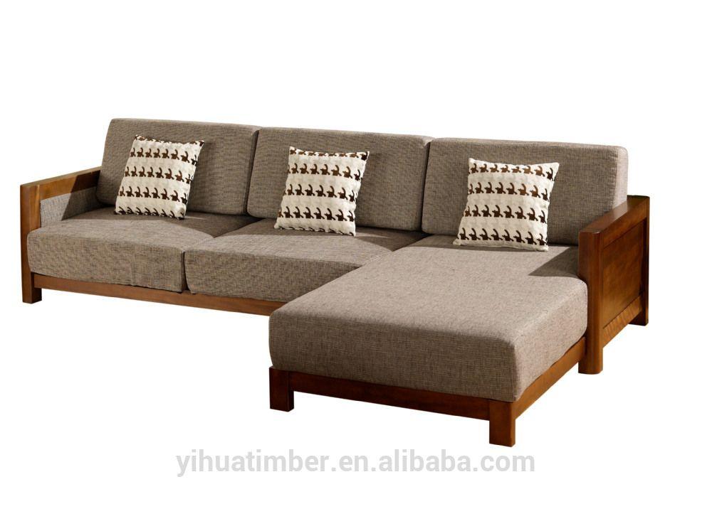 Chinese Style Solid Wood Sofa Design Modern Wood Sofa Modern