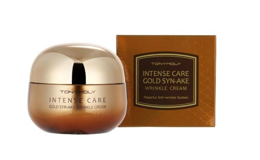 Intense Care Gold 24k Snail Syn Ake Skin Care 4 Gold Syn Ake Wrinkle Cream 50ml Wrinkle Cream Anti Aging Skin Products Korean Cosmetics Online