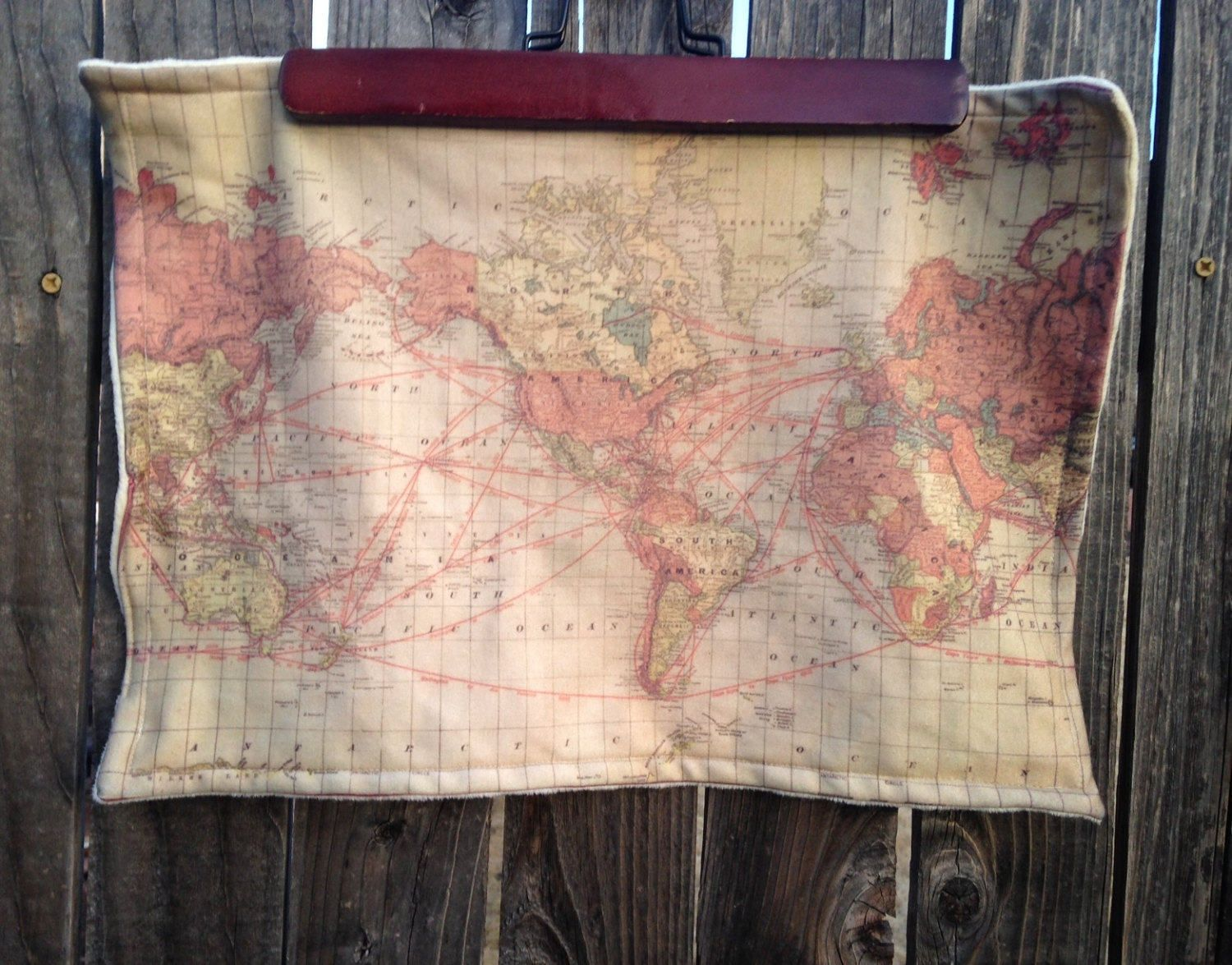 World map blanket baby minky security blankie small travel world map blanket baby minky security blankie small travel blanky lovie lovey gumiabroncs Images