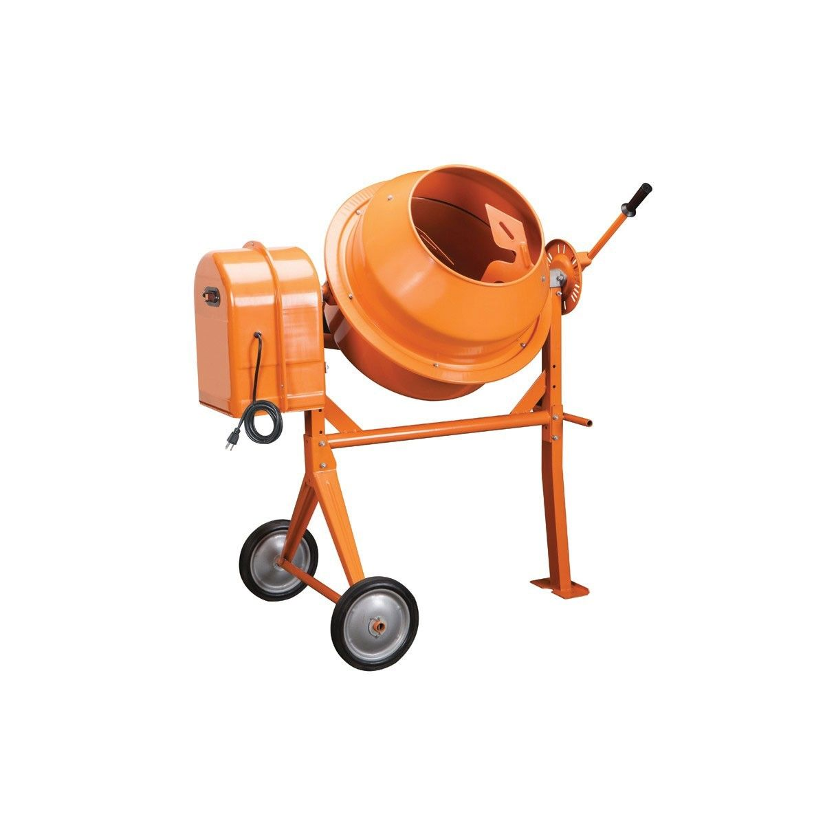 3 1 2 Cubic Ft Cement Mixer Cement Mixers Concrete Mixers Cement