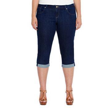 Levi's Cuffed Denim Capris - Women's Plus | Size 24 | Kohl's ...
