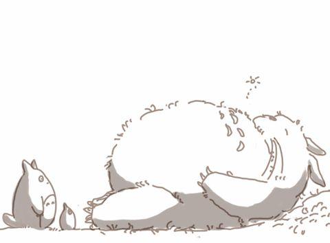 トトロのかわいいイラスト画像 トトロ ジブリ トトロ アニメ
