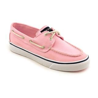Sperry Top Sider Women's 'Bahama 2-Eye' Pink Basic Textile Casual Shoes |