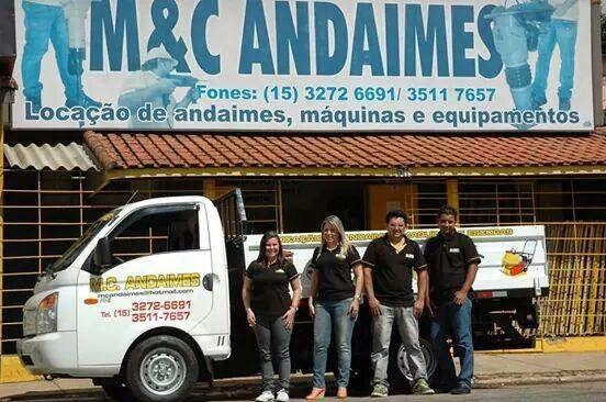 JORNAL AÇÃO POLICIAL ITAPETININGA E REGIÃO ONLINE: M&C ANDAIMES Av. Ten. Urias Emigídio Nogueira de Barros, 511 Vila Nova Itapetininga - Itapetininga - SP