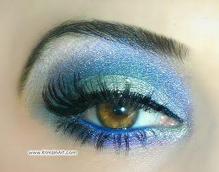 """Mystical Fairy"" makeup look"