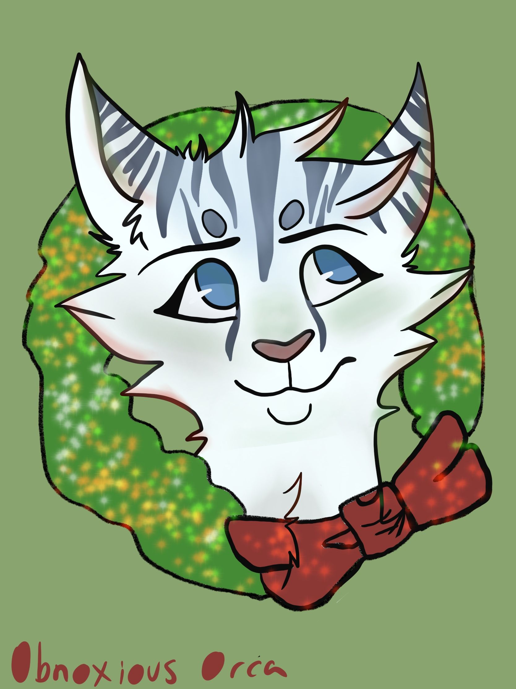 Christmas Pfp.Christmas Pfp Request From Bluedream This Is Her Oc