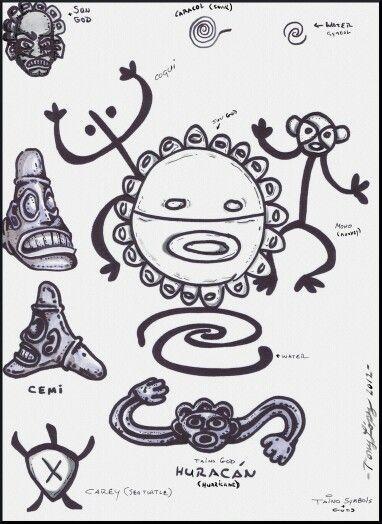 Taino Symbols Taino Pinterest Taino Symbols Symbols And